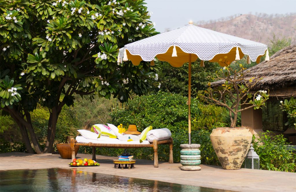 Give Your Garden Some Extra Wow with a Gorgeous Handcrafted Parasol