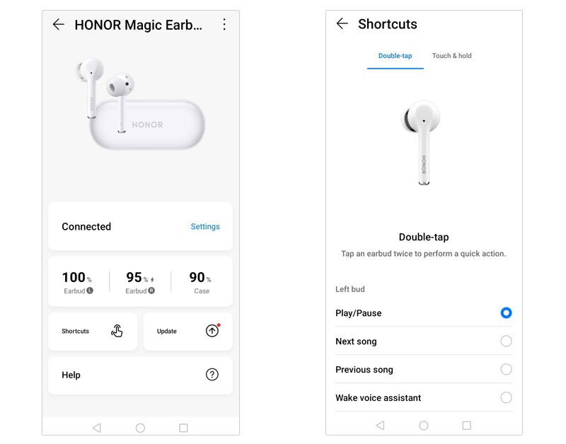 HONOR Magic Earbuds app