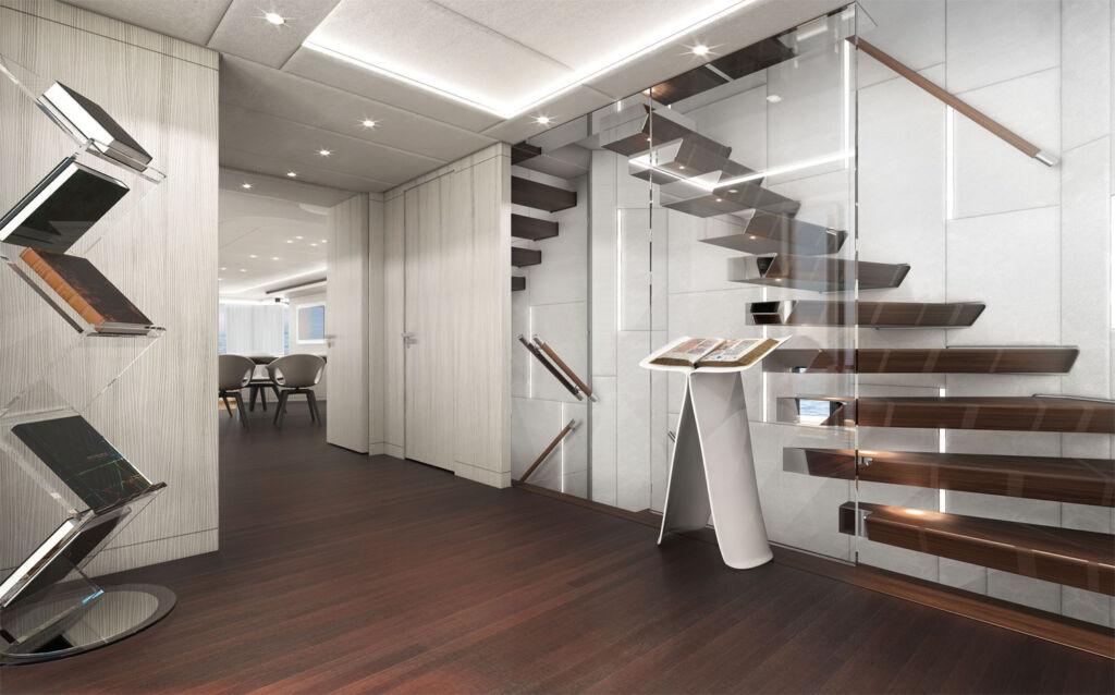 Heesen Amare II Yacht interior