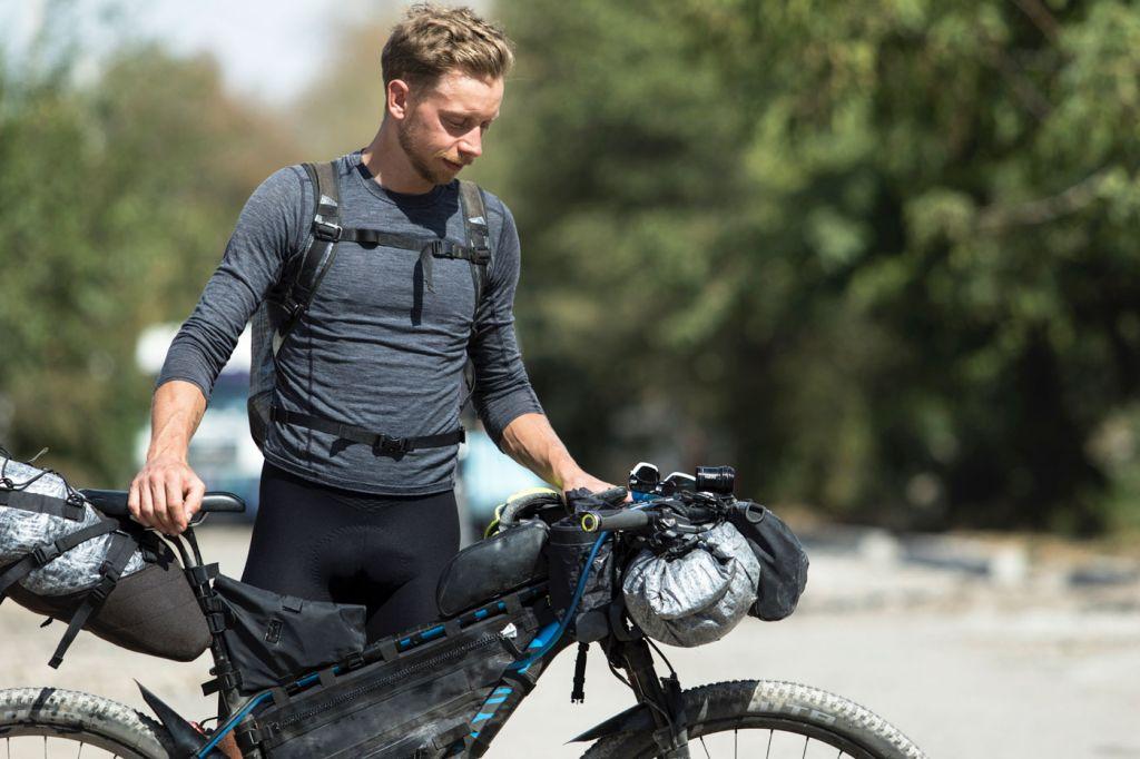 James Hayden Bike-Packing on the Silk Road