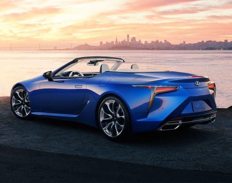 Lexus Engineers Makes Open Air Motoring Quieter in LC Convertible
