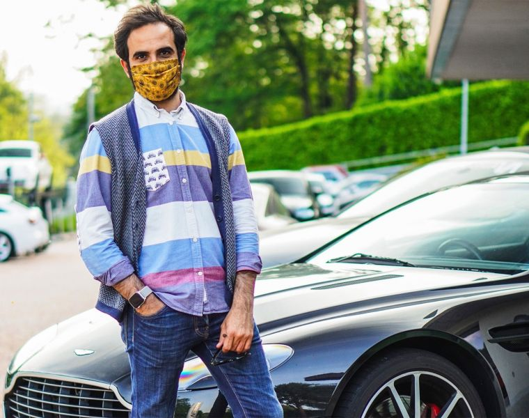 Motoring-Inspired Luxury Silk Face Coverings From The Outlierman