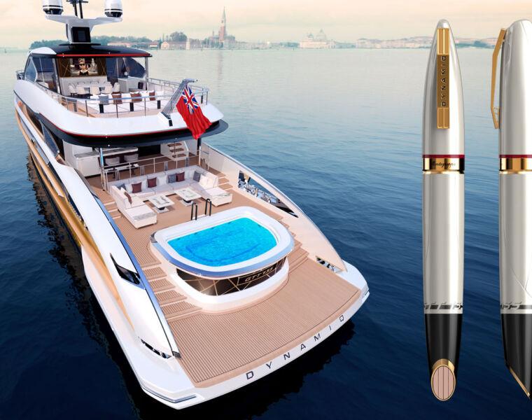 Montegrappa Dynamiq GTT 135 rollerball pen