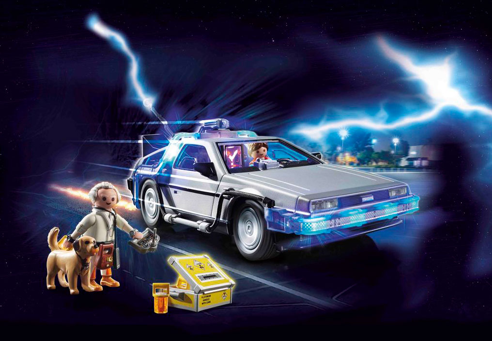PLAYMOBIL Back to the Future Set