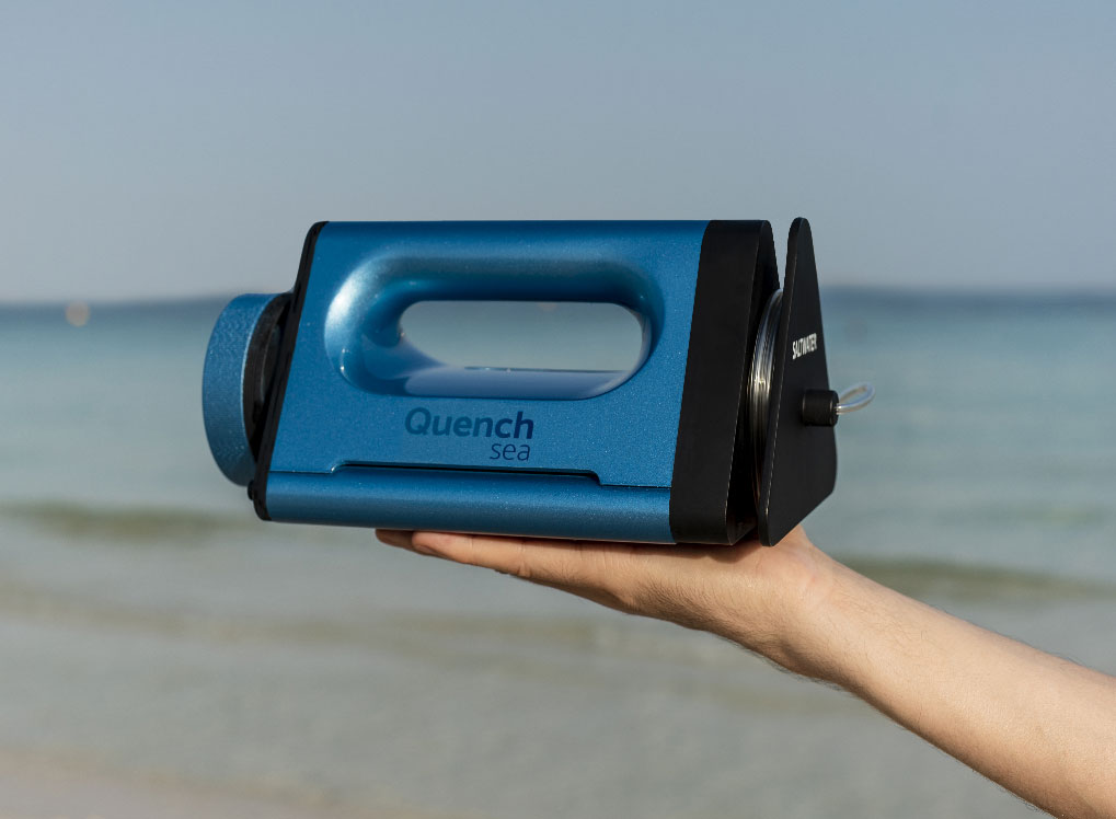 Quench Sea has an inbuilt ultrafiltration and microfiltration system