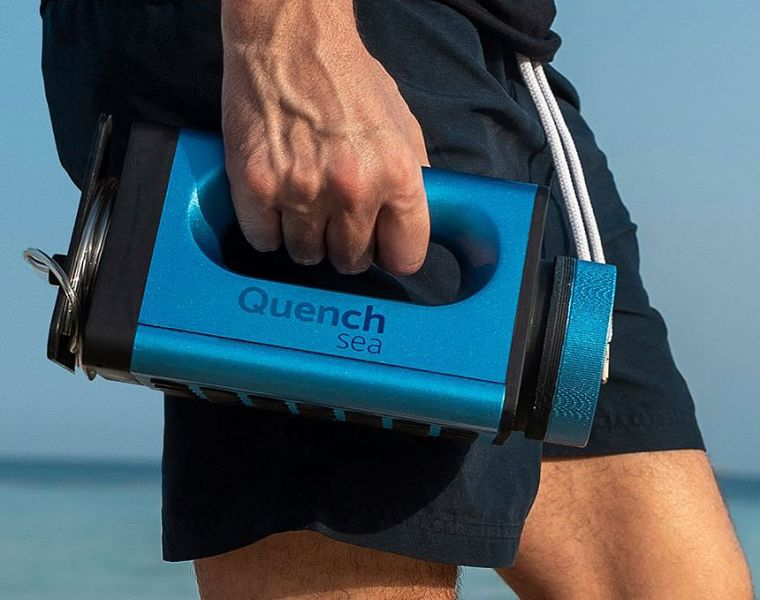 Quench Sea Emergency Device