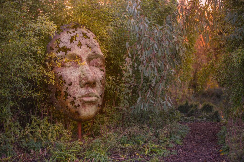 Simon Gudgeon Leaf Spirit sculpture