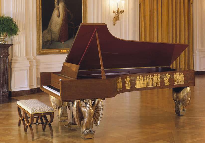 Steinway White House Piano
