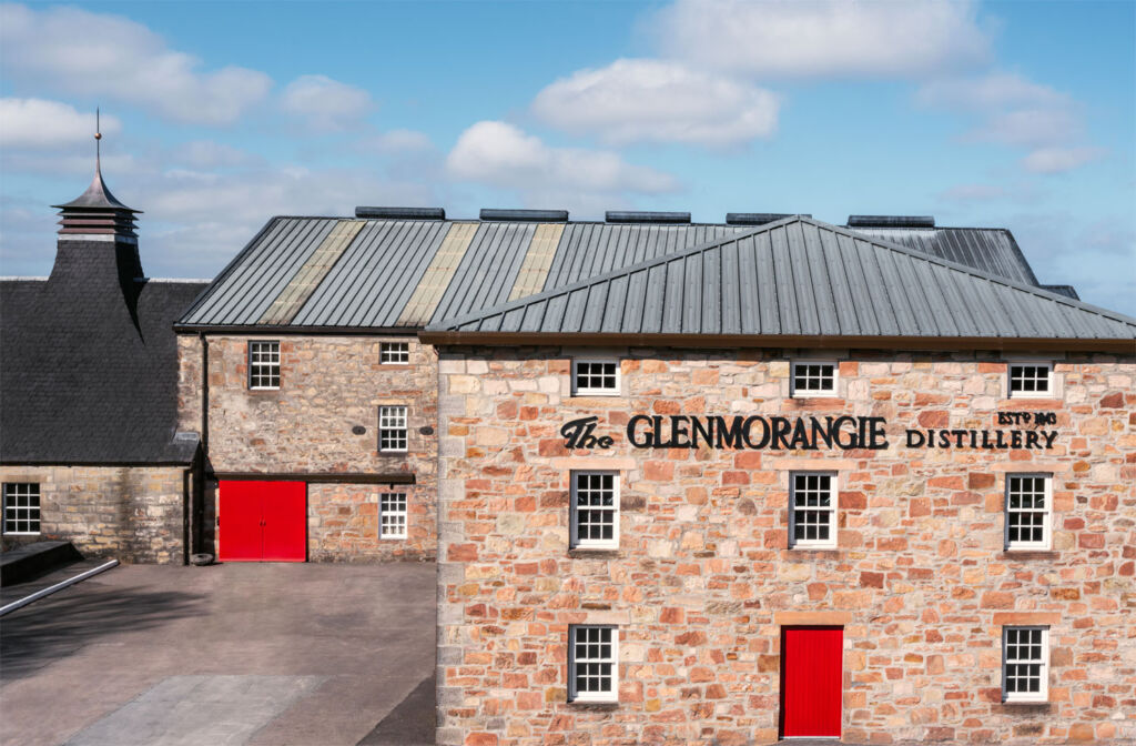 The Glemorangie Distillery Building