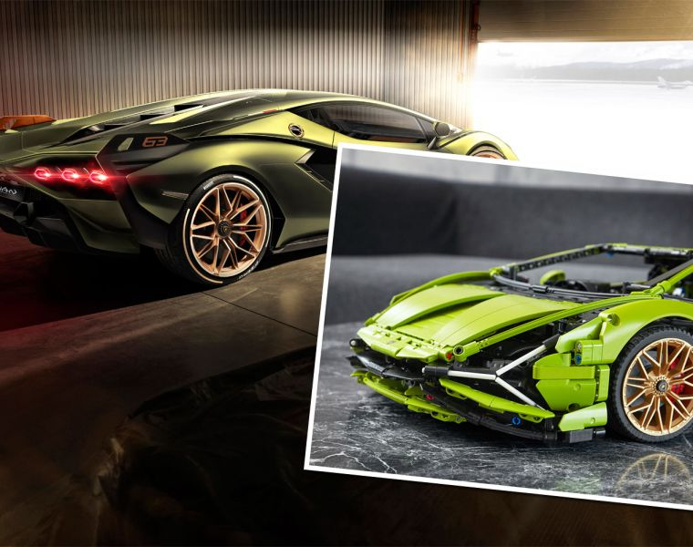 Piece Together Your Own Lamborghini Sián With LEGO Technic 15
