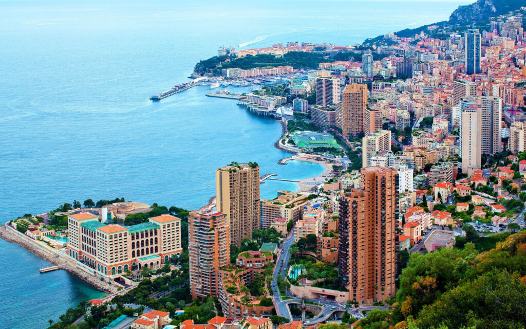 The Monaco skyline