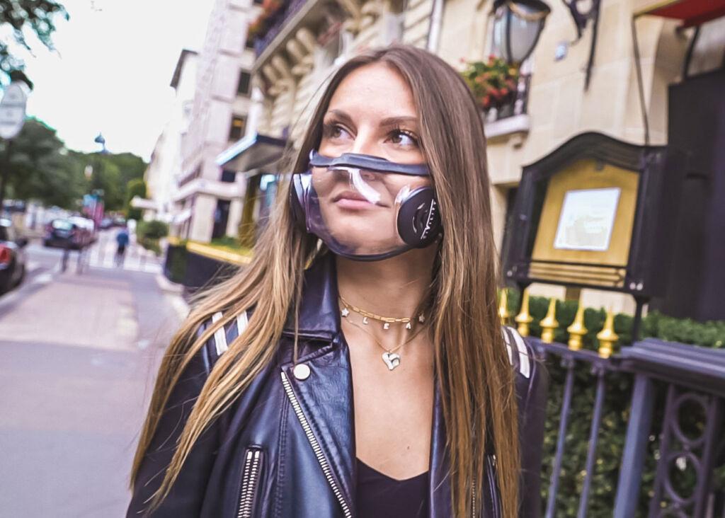 Transparent Civility Face Mask