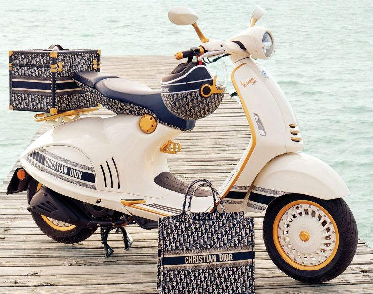 The Christian Dior Vespa 946 Scooter - A Two-Wheeled Fashion Statement