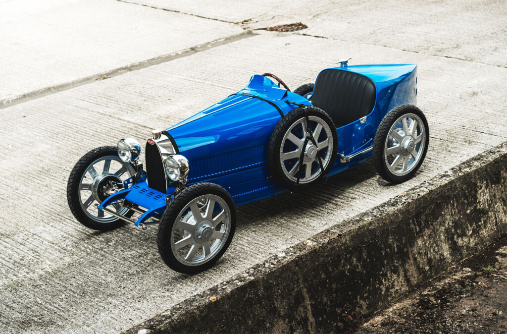 Limited Edition Bugatti Baby II Allows More to Experience Driving History