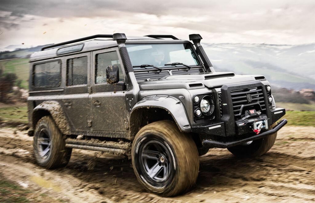 ARES Design Modena V8 Land Rover Defender off road