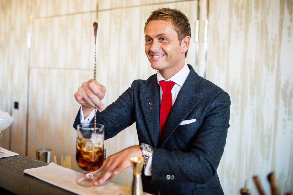 Bartender David Rios