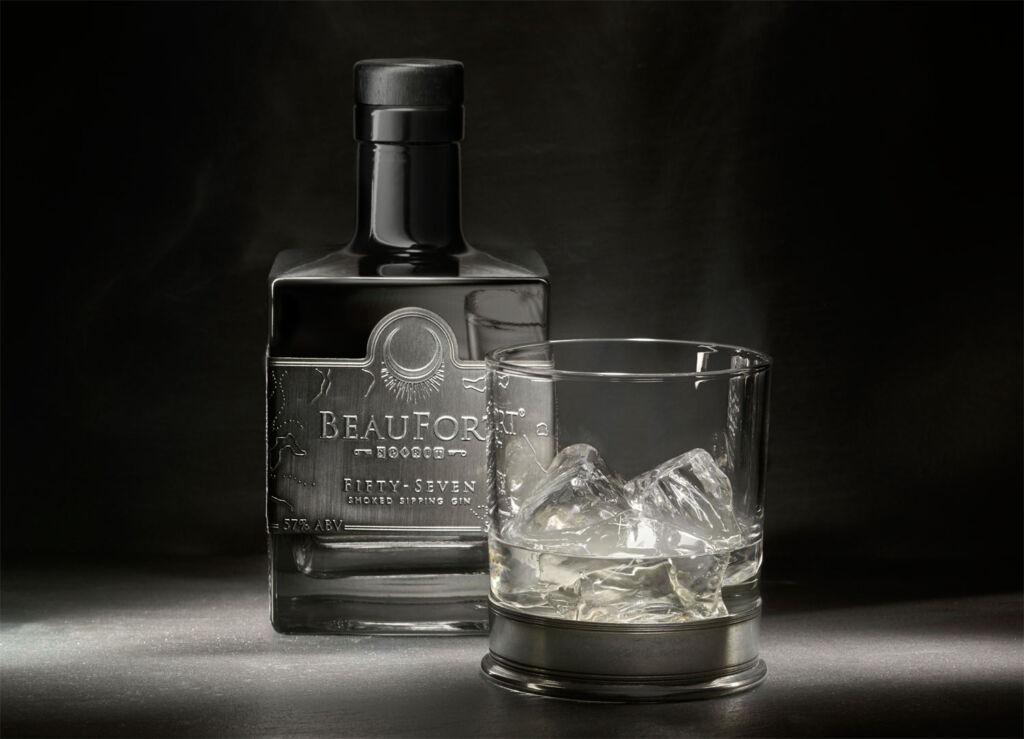 BeauFort 57 Smoked Gin bottle