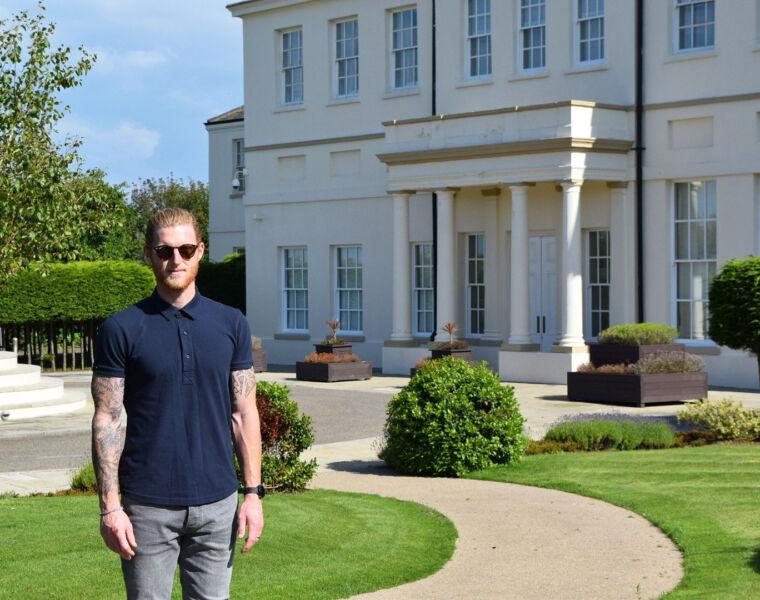 Cricketer Ben Stokes Becomes Seaham Hall's New Brand Ambassador