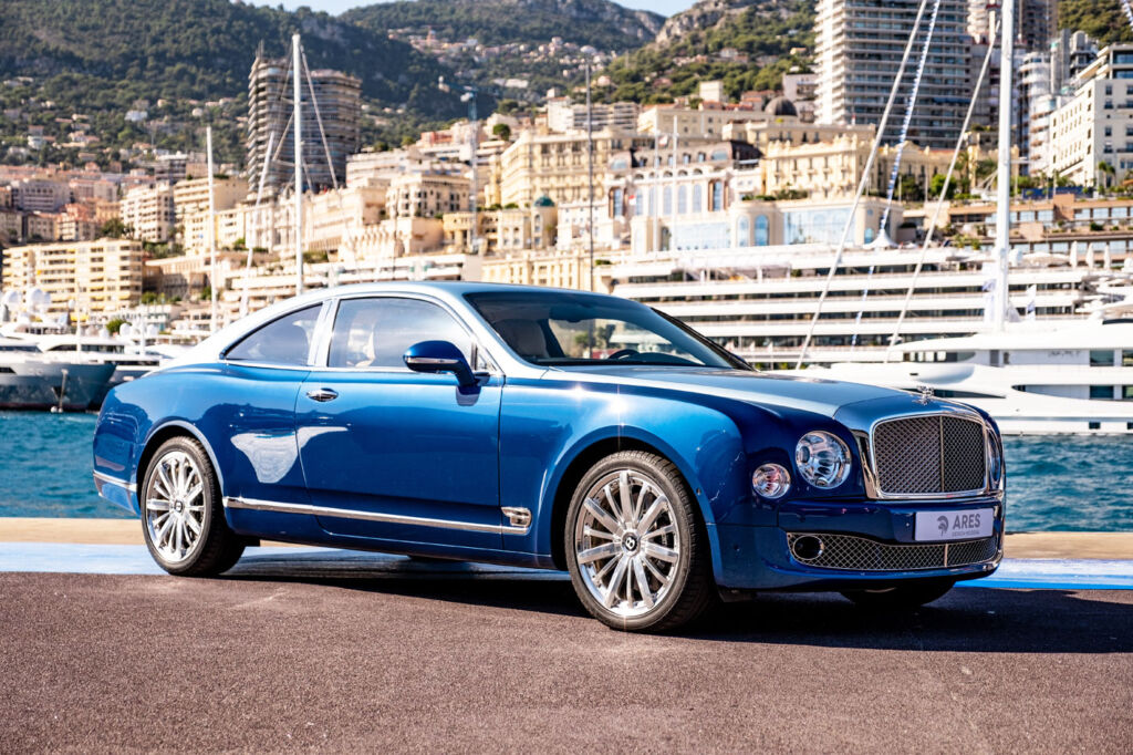 Blue Bentley Coupe by ARES Design Modena