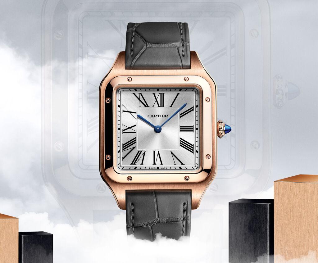 Cartier Santos-Dumont XL in gold