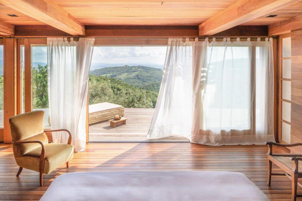 Castello di Vicarello bedroom suite
