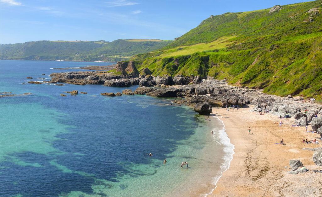 Cycling the coastal roads of Cornwall