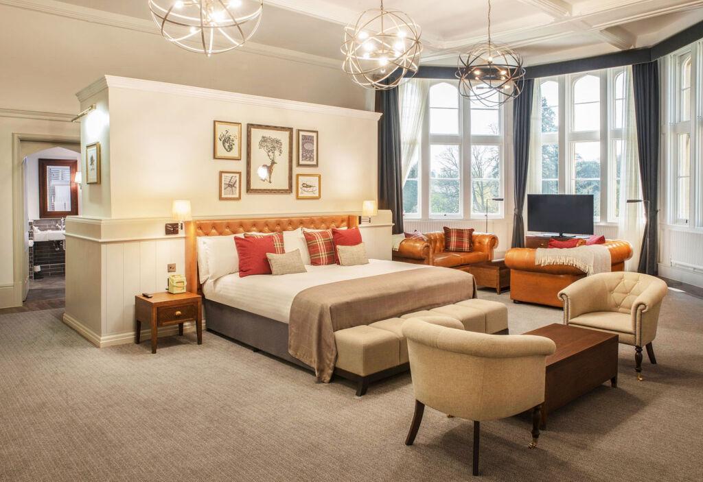 De Vere Tortworth Court bedroom suite