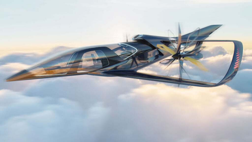 Embraer Jets Pulse Concept in Flight