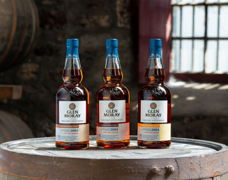 Glen Moray Unveils Whisky Trio For 2020 Distillery Edition