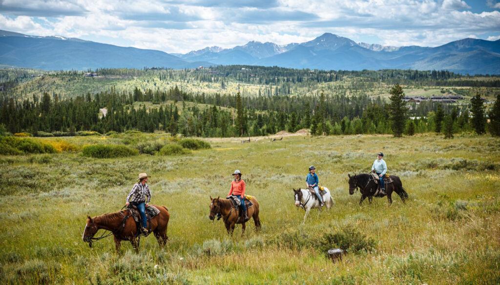 Horseriding at Devil's Thumb Ranch Resort & Spa
