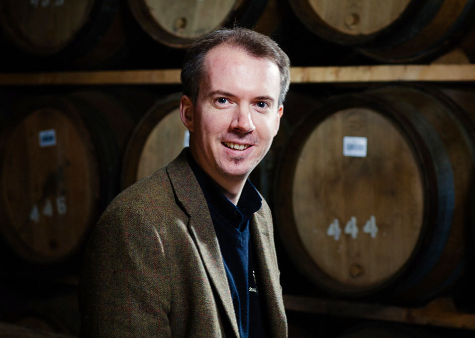 Iain Allan of the Glen Moray distillery