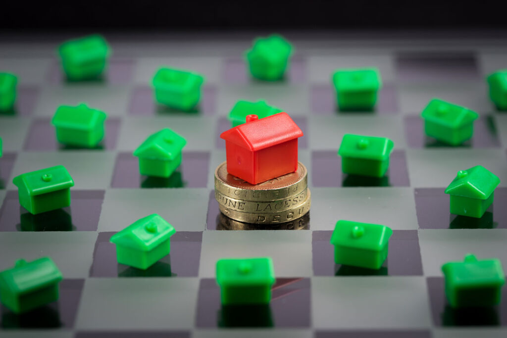 Increase in properties coming to the UK market