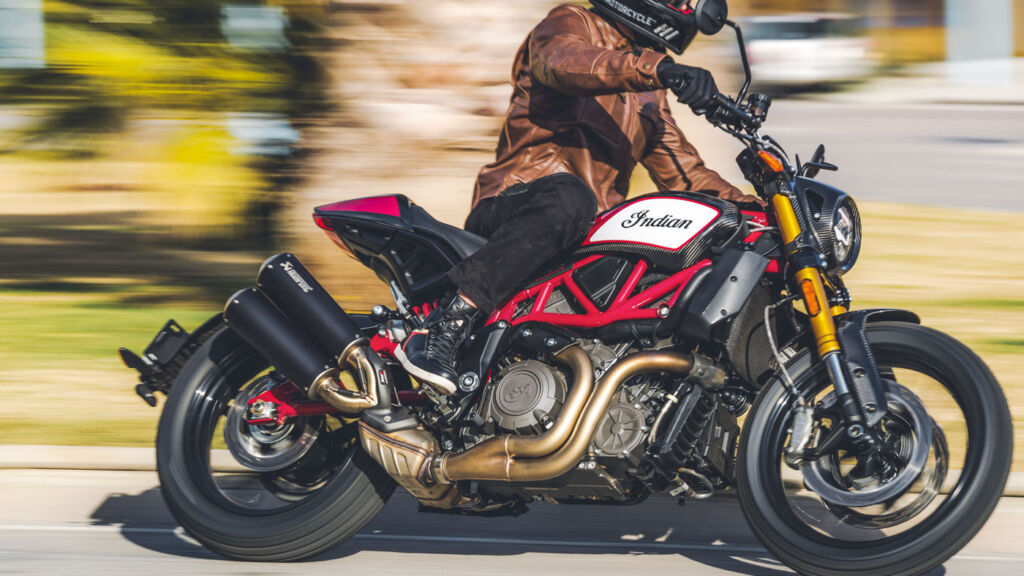 Indian Motorcycle has improved the stability of the bike