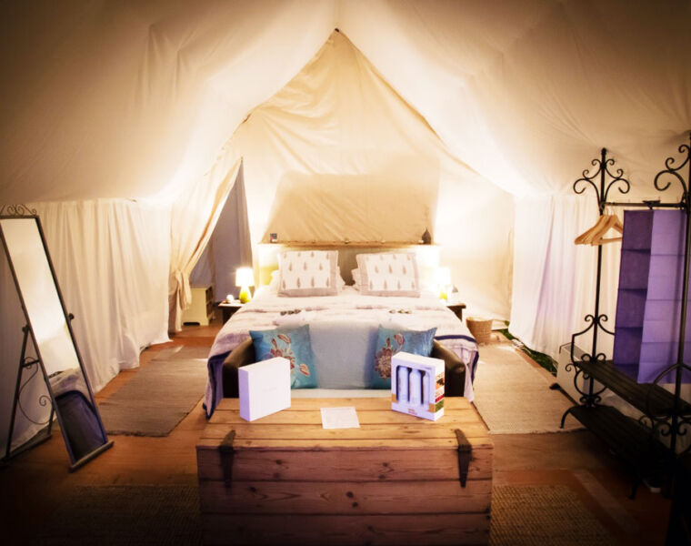 Luxury Glamping at 'The Pop Up at Cadland' in Hampshire