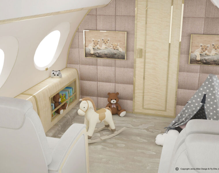 World's First Flying Nursery