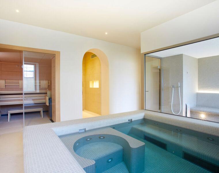 KLAFS at Guncast Transforms a Cheltenham Basement into a Luxury Spa