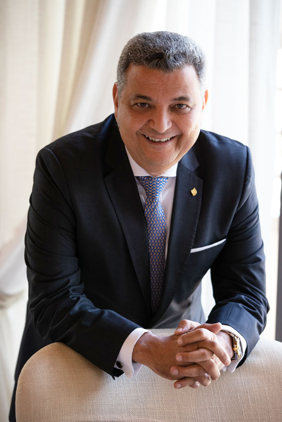 Mahmoud Sakr MD of Jumeirah Zabeel Saray Hotel & Residences