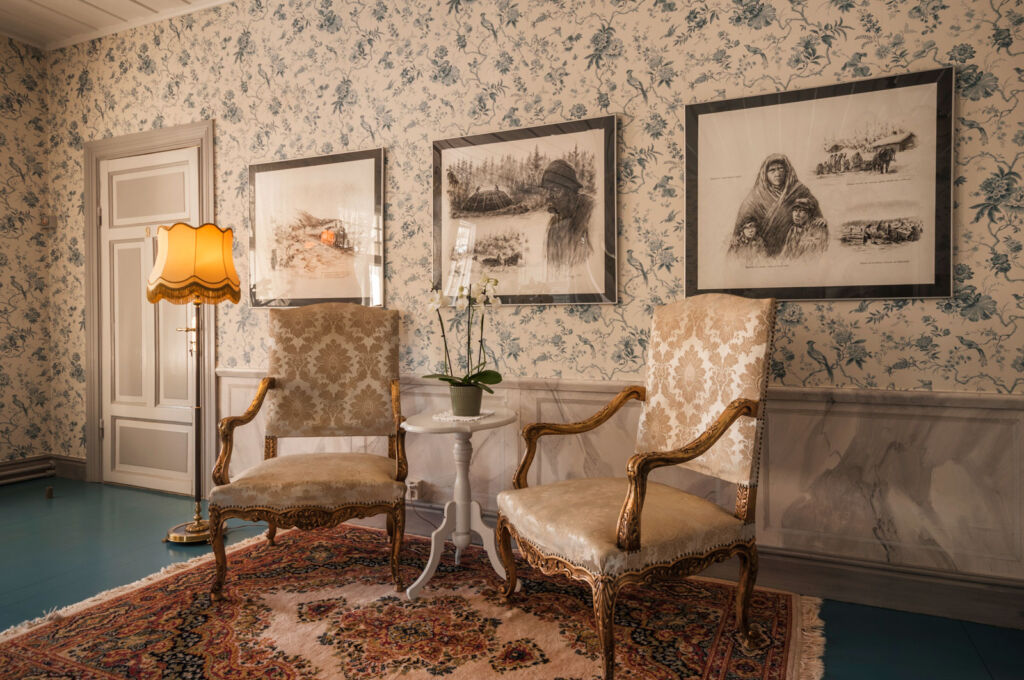 Melderstin Manor lounge