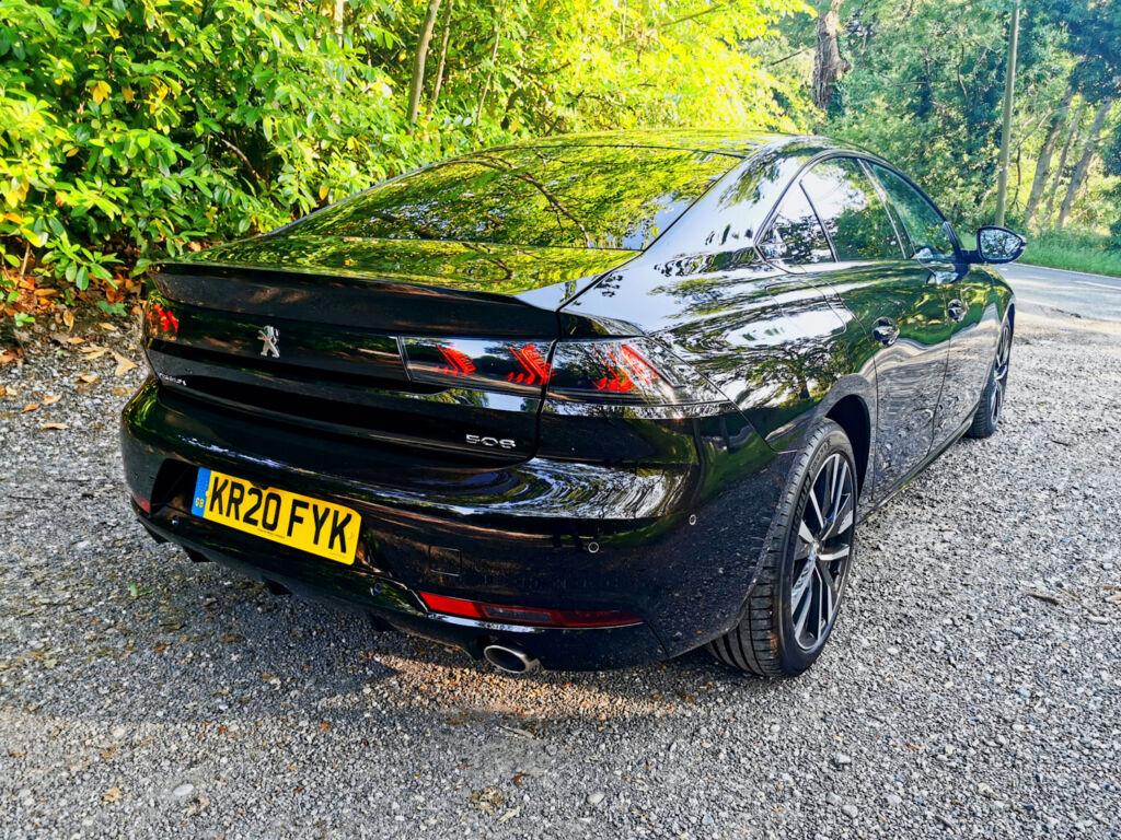 PEUGEOT 508 HYBRID GT Fastback in Nera Black