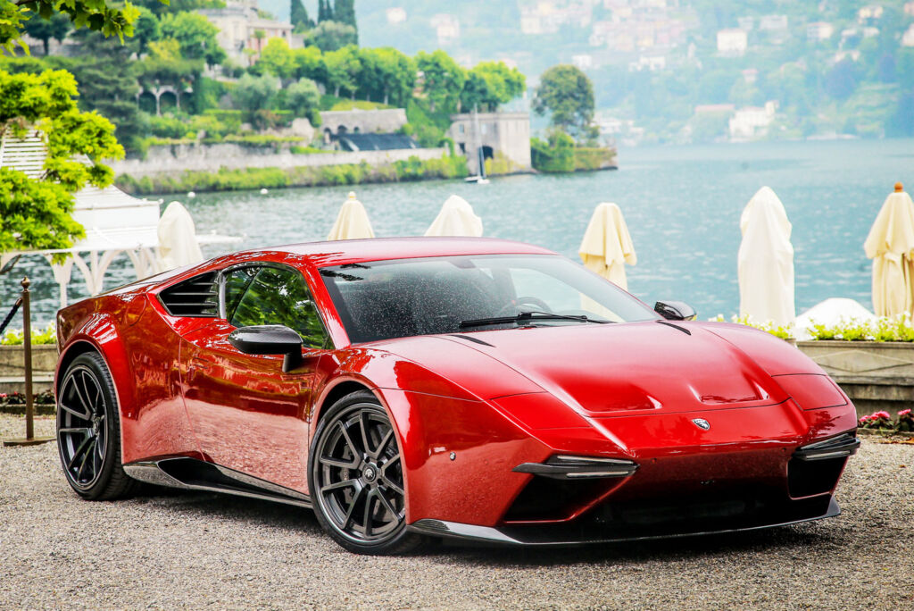 Panther ProgettoUno in red by ARES Design Modena