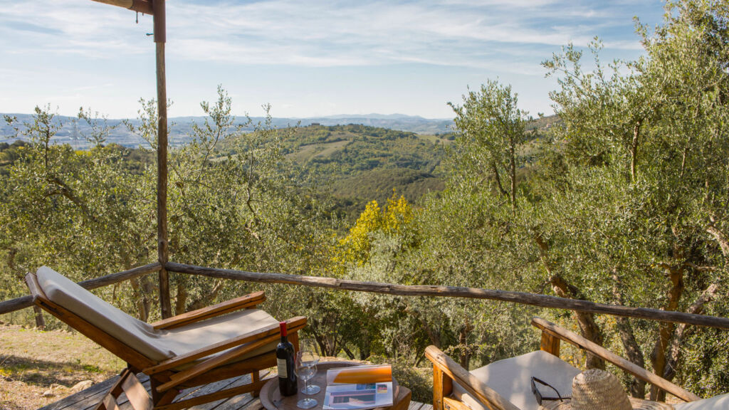 Relaxing in the Tuscan Countryside