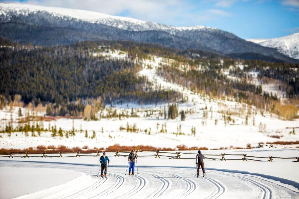 Skiing at the Devil's Thumb Ranch Resort & Spa
