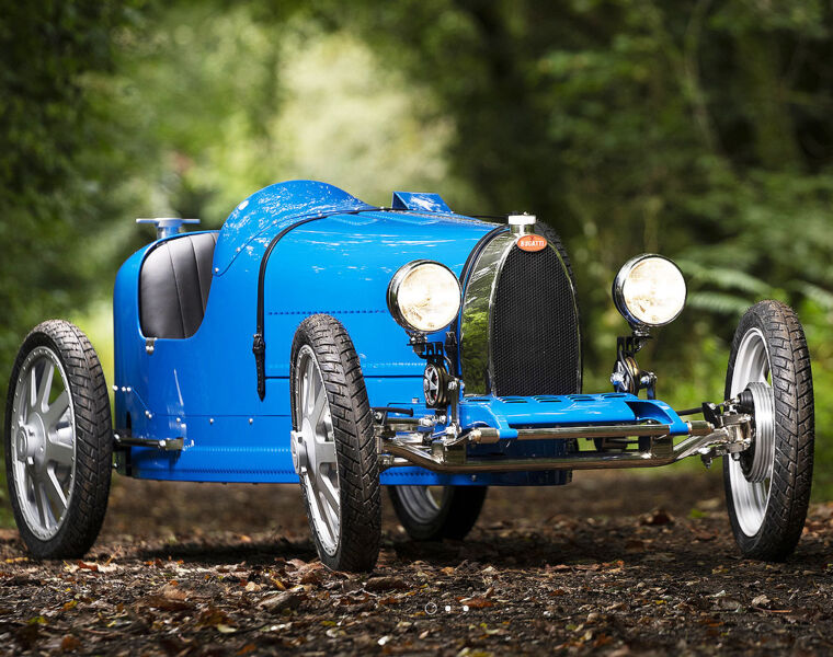 Limited Edition Bugatti Baby II is a 3/4 Scale Homage to Motoring History 2