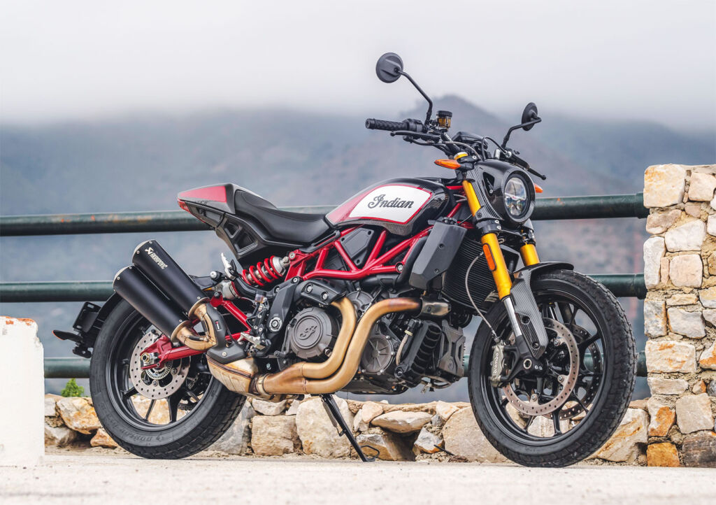 The 1200 FTR from Indian Motorcycle is Fast, Turbulent and Raucous