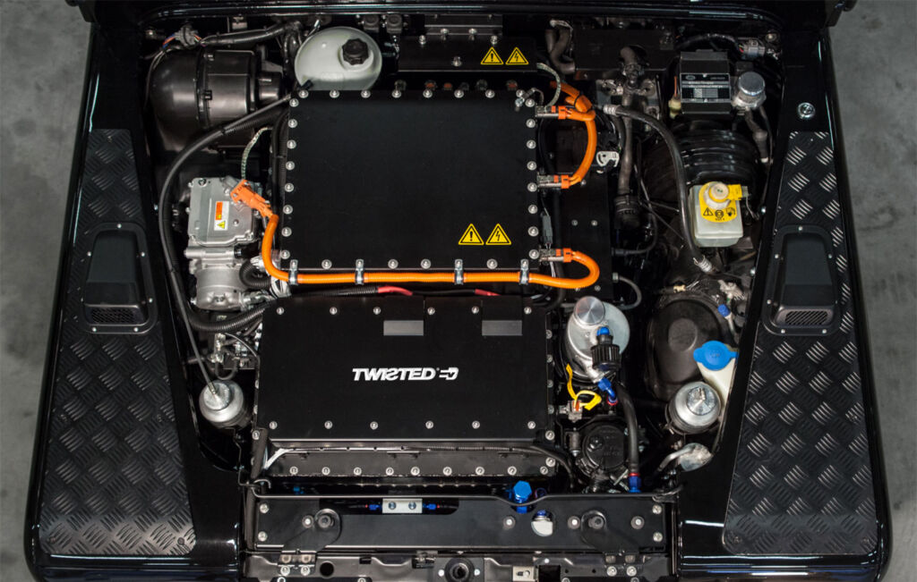 Twisted EV electric engine