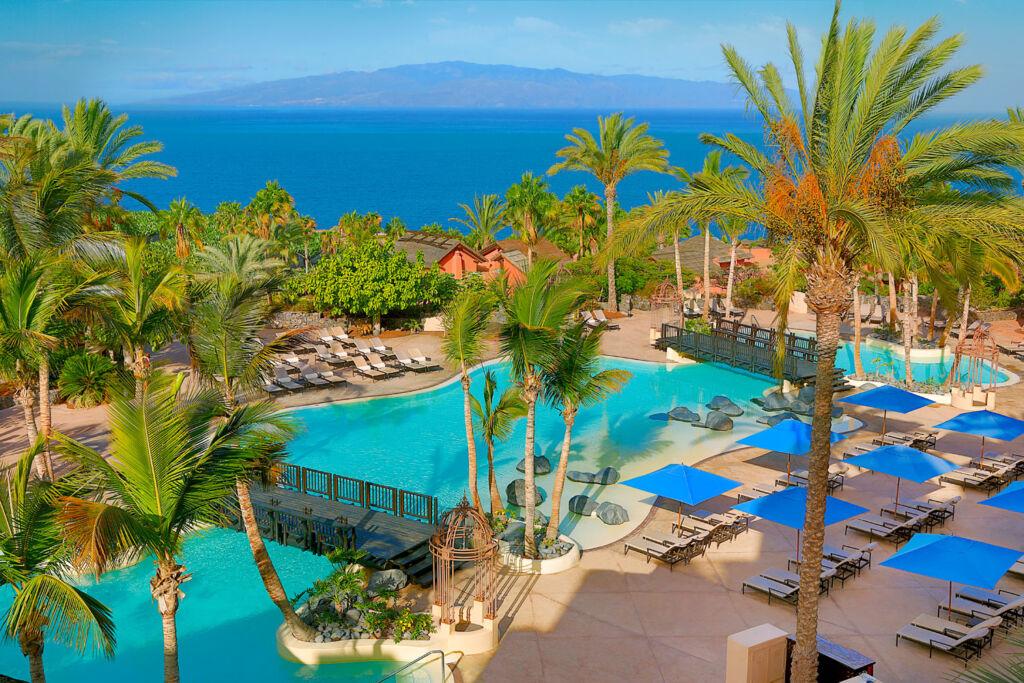 The swimming pool at the Ritz-Carlton Abama
