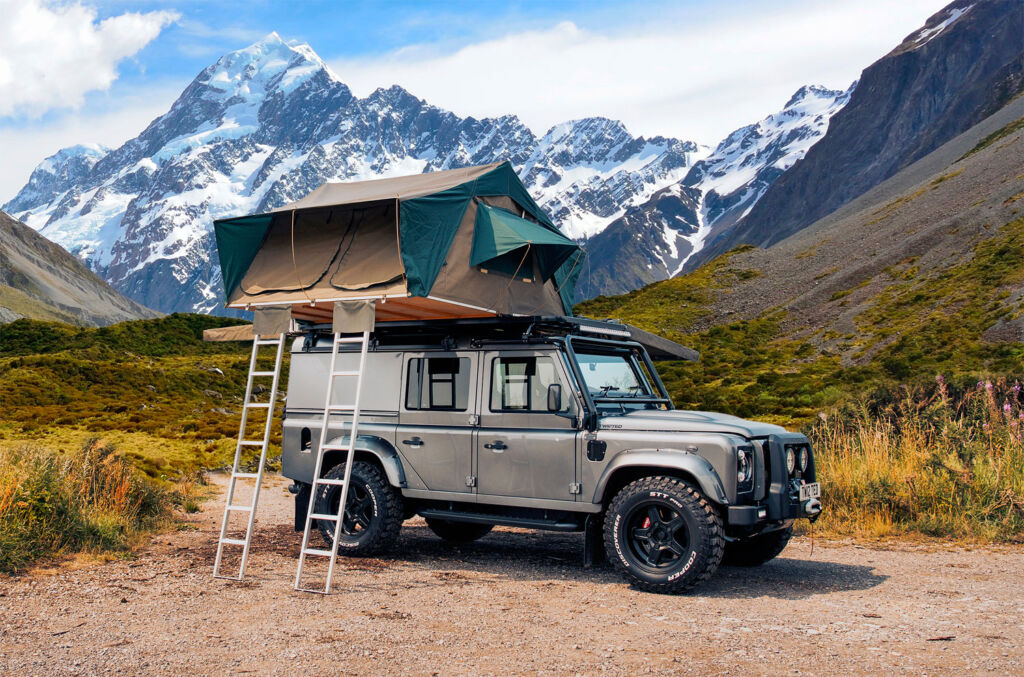 Twisted Automotive NA V8 camping