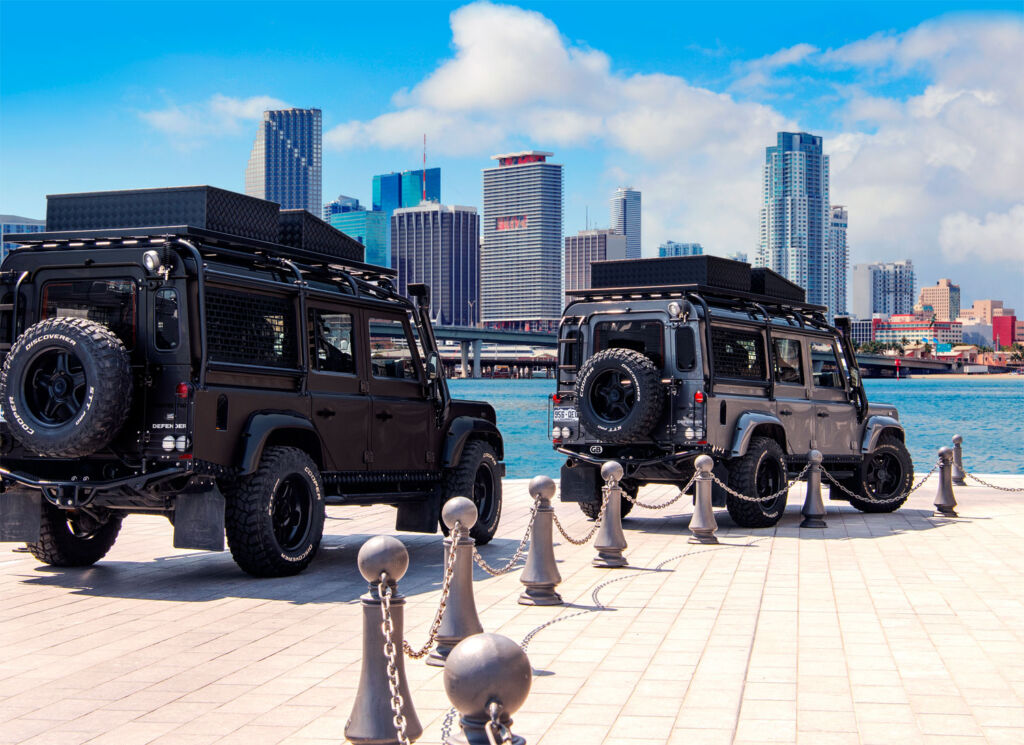 Twisted North America land Rovers