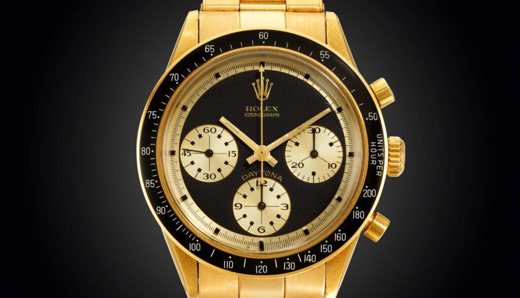 18k Yellow Gold Rolex Daytona JPS