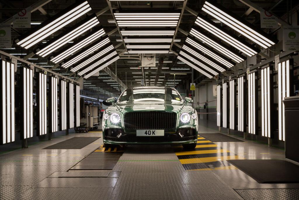 Bentley Motors Has Enabled 40,000 Owners to 'Gain Their Spurs'